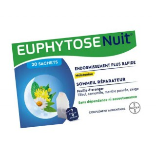 Euphytose nuit infusion - 20 sachets