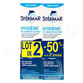 Stérimar lot de 2x100ml