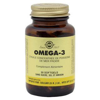 Solgar Omega 3 Softgels 30