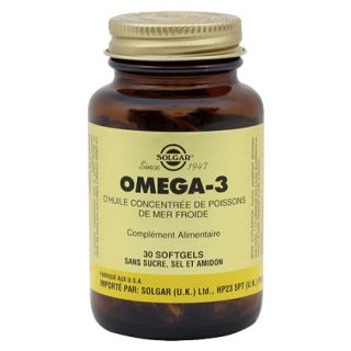 "Solgar Omega 3 ""700"" 30 Softgels"