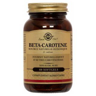 Solgar Bêta-Carotène 7 mg 60 Gélules