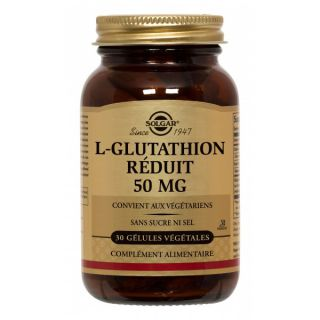 Solgar L-Glutathion Reduced 50MG 30G