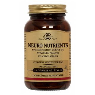 Solgar Neuro Nutrients 30 Caps