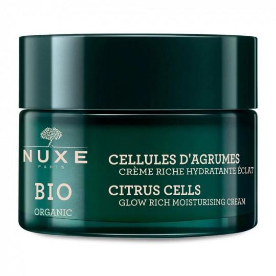 Nuxe Bio Crème riche hydratante éclat - 50ml