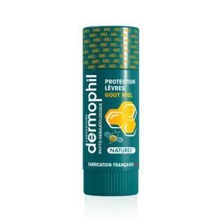 Dermophil Indien Stick lèvres protection goût miel - 4g