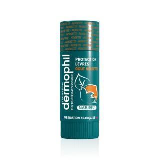 Dermophil Indien Stick lèvres protection goût noisette - 4g
