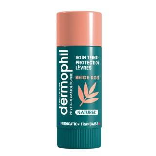 Dermophil Indien Stick lèvre protection teinté beige rosé - 4g