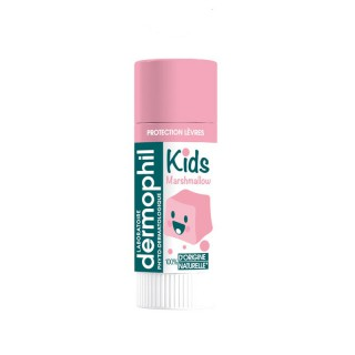 Dermophil Indien Stick lèvre protection kids goût marshmallow - 4g