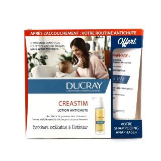 Ducray Kit Creastim antichute x 3 soins