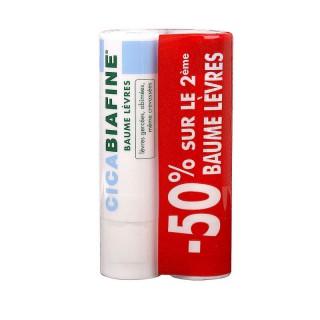 Cicabiafine baume lèvres réparateur intensif - 2 x 4,9g
