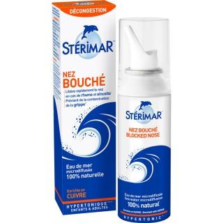 Stérimar Nez bouché spray nasal hypertonique - 100ml