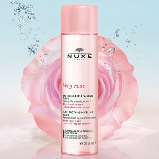 Nuxe Very Rose Eau micellaire apaisante 3-en-1 - 200ml