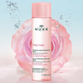 Nuxe Very Rose Eau micellaire hydratante 3-en-1 - 200ml