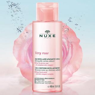 Nuxe Very Rose Eau micellaire apaisante 3-en-1 - 400ml