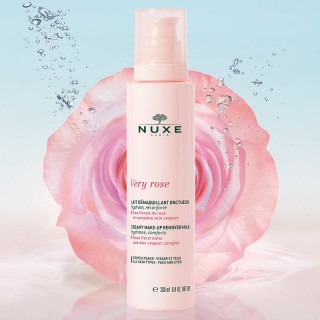 Nuxe Very Rose Lait démaquillant onctueux - 200ml