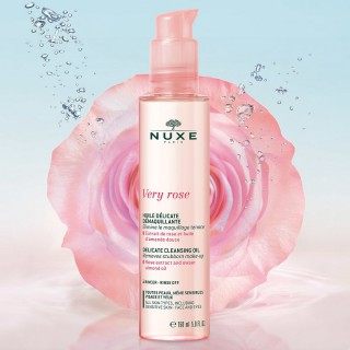 Nuxe Very Rose Huile délicate démaquillante - 150ml