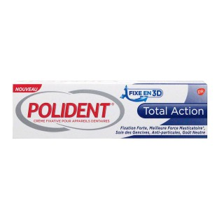 Polident Crème fixative Total Action - 40g