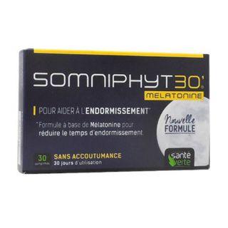 Somniphyt Mélatonine Boite 30 Comprimés - sante verte