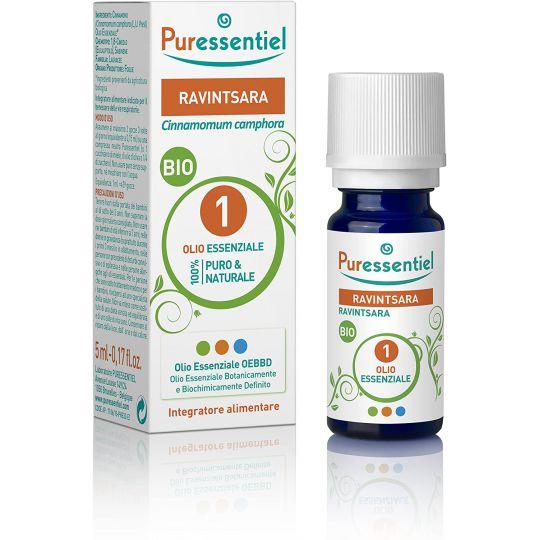 Puressentiel Organic Ravintsara Essential Oil 5ml