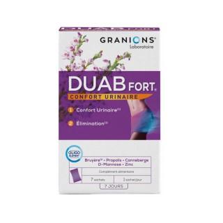 Granions Duab Fort - 7 sachets