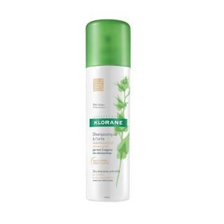Klorane Shampoing sec sébo-régulateur à l'ortie cheveux châtains à bruns - 150ml