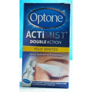 Optone ActiMist 2 en 1 Yeux irrités + inconfort