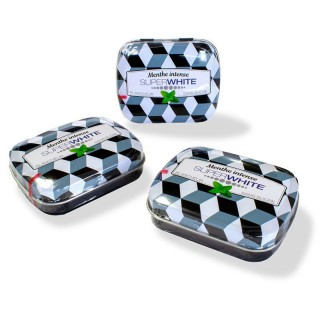 SuperWhite Mini mints Black Edition Menthe glaciale - 50 pastilles