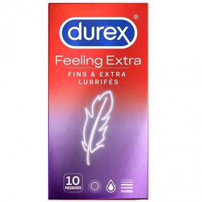 Durex Feeling Extra - 10 préservatifs