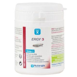 Nutergia Ergy 3 - 180 capsules