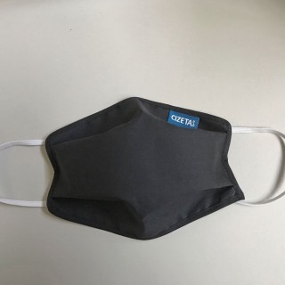 Cizeta Masque barrière réutilisable et lavable 30 fois - Noir