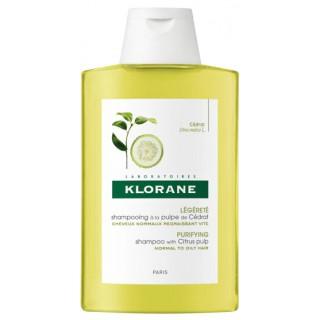 Klorane shampoing à la pulpe de cédrat - 100ml