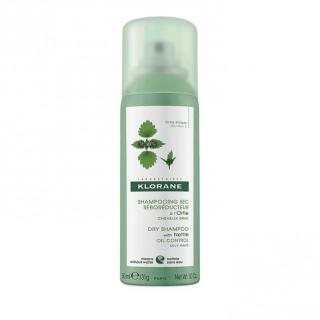 Klorane Shampoing sec sébo-régulateur à l'ortie - 50ml