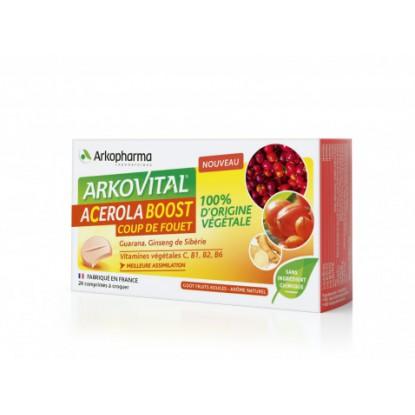 Arkovital Acérola boost - 24 comprimés à croquer