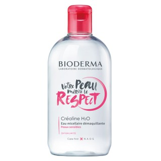 Bioderma Crealine H2O Eau micellaire démaquillante Edition collector - 500ml
