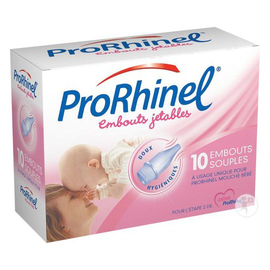 Prorhinel Baby Nose Blower Tips box of 8