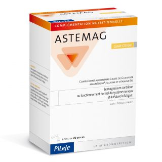 Astemag 20 Sticks Lemon Flavor
