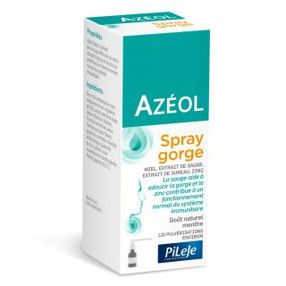 Pileje Azeol spray gorge - 15 ml