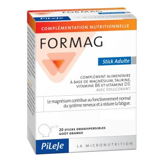 Pileje Formag adulte - 20 sticks orodispersibles