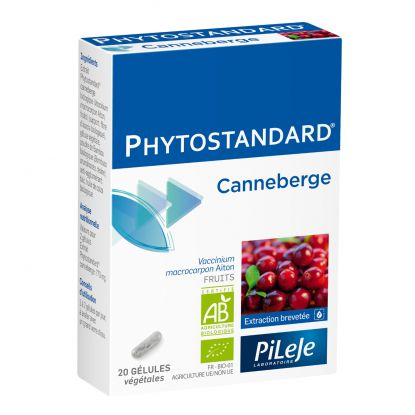 Phytostandard Canneberge 20 Gélules