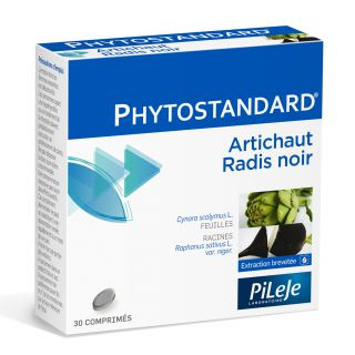 Phytostandard artichoke and horseradish Phytoprevent Pileje 30cp