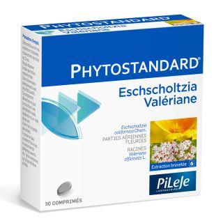 Phytostandard d'eschscholtzia et de valériane 30 Cp