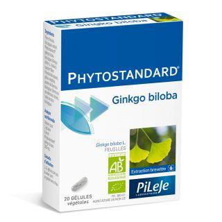 Phytostandard Gingko 20 Gélules