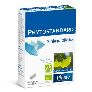 Pilèje Phytostandard Gingko Biloba x20