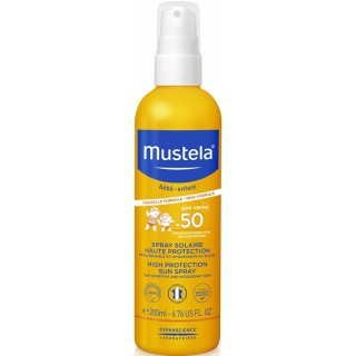 Mustela Spray solaire haute protection SPF50+ - 200ml