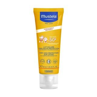 Mustela Lait solaire très haute protection SPF50+ - 40ml
