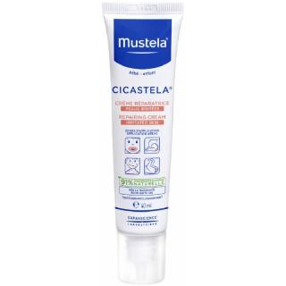 Mustela Cicastela Crème réparatrice peaux irritées - 40ml