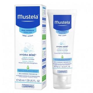 Mustela Hydra Bébé Crème visage - 40ml
