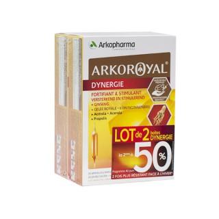 ArkoRoyal Dynergie - Lot de 2x 20 ampoules