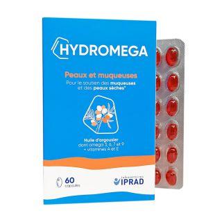 Hydromega 60 capsules Carrare Laboratoire