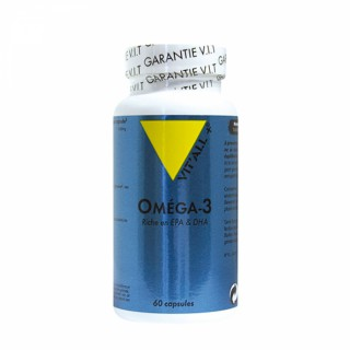 Vitall+ Oméga 3 1000mg - 60 capsules